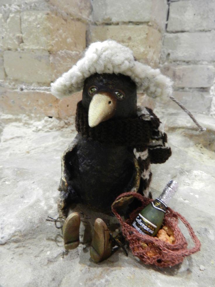 new year crow doll (Lyudmila Volya)