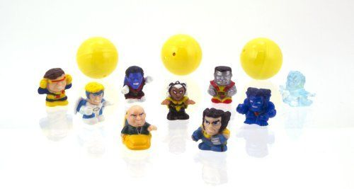 "Blip Squinkies Marvel Bubble Pack - Series 3 - X-Men by Squinkies. $7.98. From the Manufacturer                New squinkies bubble packs for boys featuring your favorite characters from Marvel Universe. Squinkies are squishy, squashy 1"" collectible figures that come in their very own bubble container. Boys can collect, trade and battle their squinkies. All your favorite marvel characters as squinkies. 100's of squinkies to collect. Each bubble pack includes 12 different squinki..."