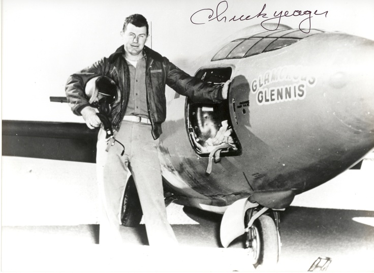 Chuck Yeager is unquestionably the most famous test pilot of all time. He won a permanent place in the history of aviation as the first pilot ever to fly faster than the speed of sound, but that is only one of the remarkable feats this pilot performed in service to his country.