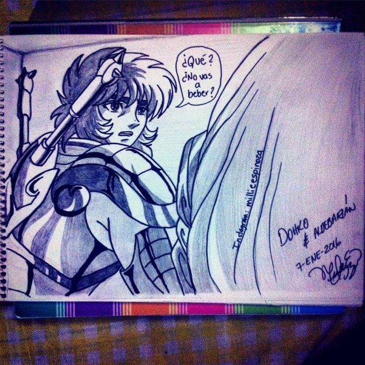 Dohko De Libra Y Aldebaran De Tauro by millie1097.deviantart.com on @DeviantArt