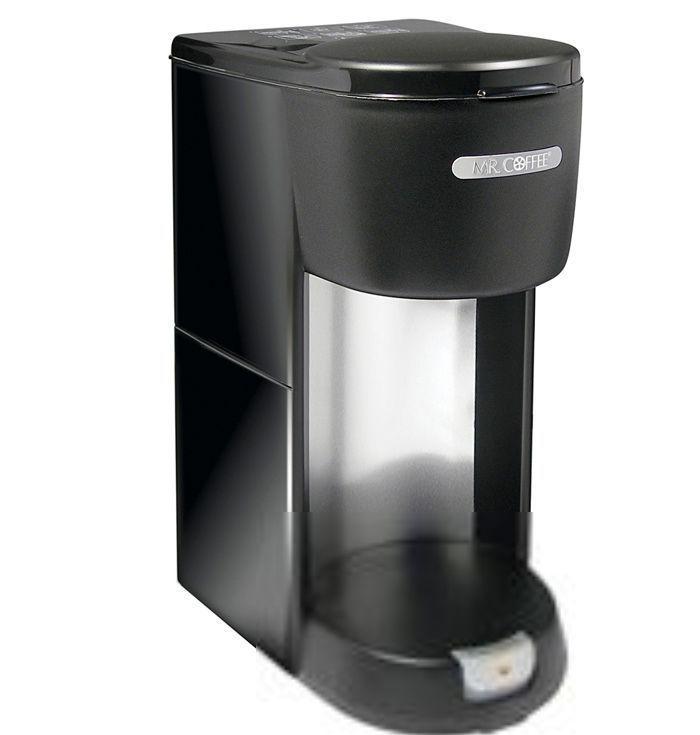 Mr. Coffee Single Serve 1 Cup Coffee Maker Black PTC13-100 New A7 #MrCoffeeSunbeam