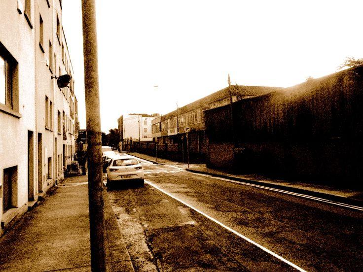 Hendrick Street Dublin looking east towards St. Michan's Church