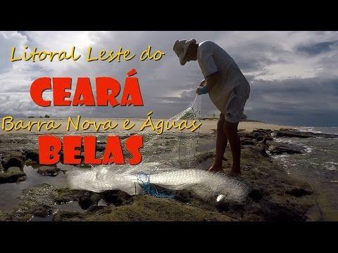 Barra Nova e Águas Belas no litoral leste do Ceará