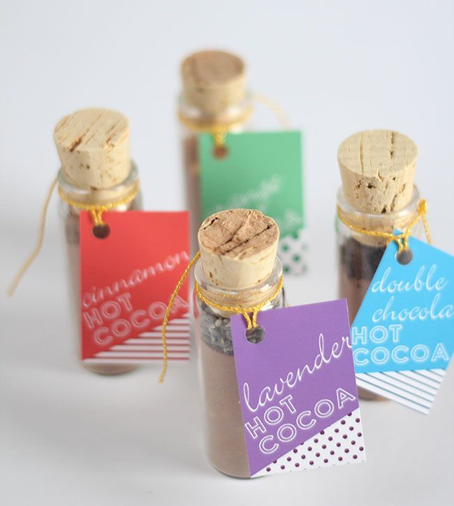 DIY Hot Cocoa Favors featured on Green Wedding Shoes.
