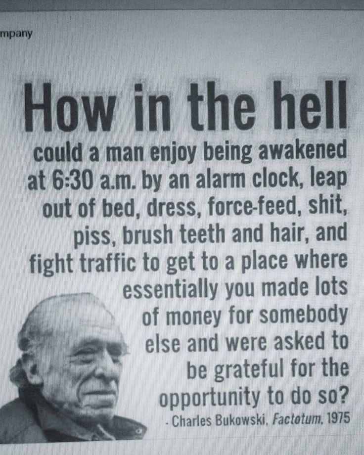 www.bukowskigivesmelife.com/shop.html From @__tatjana____ - Cooler than the other side of the pillow: Mr #charlesbukowski #quote #bukowski #BukowskiGivesMeLife #goodmorning #morning #day #awake #wakeup #wake #wakingup #daytime #sunrise #morn #ready #sleepy #breakfast #tired #sluggish #instagood #earlybird #sky #photooftheday #gettingready #goingout #sunshine #instamorning #work #early #fresh www.bukowskigivesmelife.com/shop.html