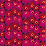 Pieni Unikko 2 Stoff violett-rot-orange von Marimekko | Online kaufen!