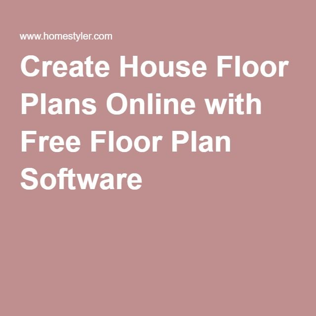 1000+ Ideas About Floor Plans Online On Pinterest