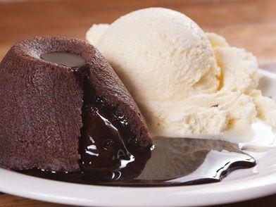 Imagem da receita O verdadeiro petit gâteau au chocolat chaud