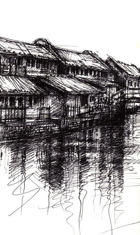 Wuzhen I » Ian Murphy Sketchbooks