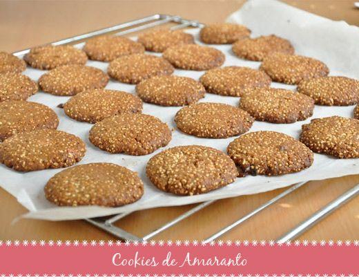 Cookies de Amaranto: Sem Glúten e Sem Lactose