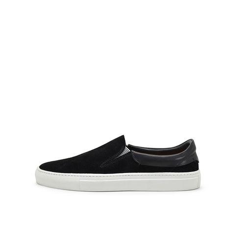 Phoenician Black Slip-On