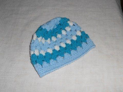 Mejores 18 imágenes de gorrito crochet en Pinterest | Sombreros de ...