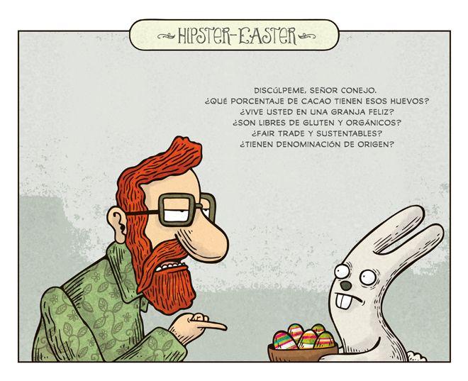 alberto montt - hipster easter