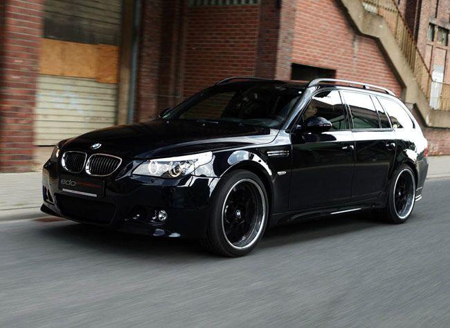 Now that I'm 25, I think it's okay to admit that I love wagons. Edo Competition BMW M5 Dark Edition