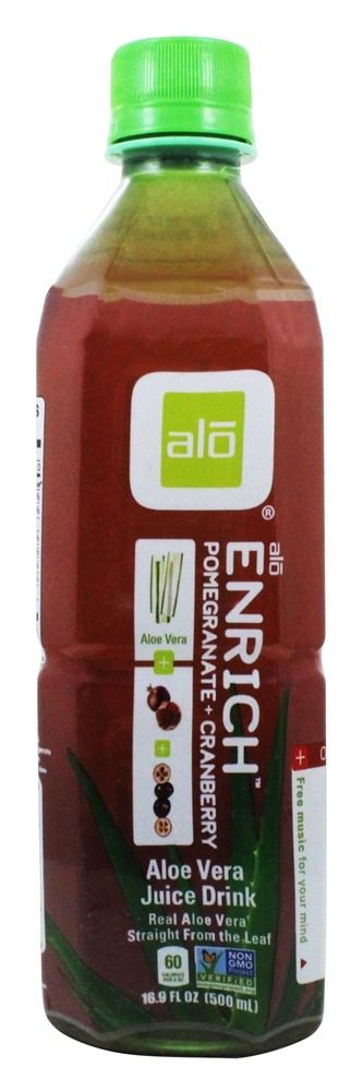 Save on Original Aloe Drink Enrich Aloe + Pomegranate + Cranberry by ALO and other Aloe Vera Drinks          and Gluten-Free remedies         at Lucky Vitamin. Shop online for Food & Snacks, ALO items, health and wellness products at discount prices.