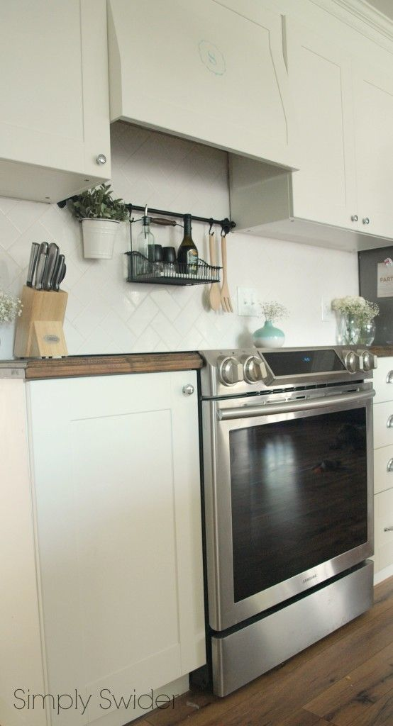 Kitchen Update New Stove And Ikea Fintorp Tutorials Websites Pinterest Samsung Ovens And