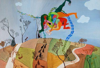 Ewa Kuryluk, Przecięcie horyzontu, 1970
