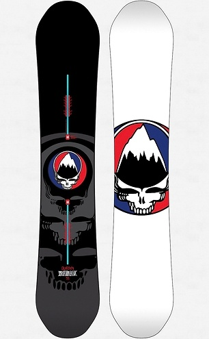 Win a Grateful Dead 'Steal Your Face' Burton Snowboard   Music News   Rolling Stone