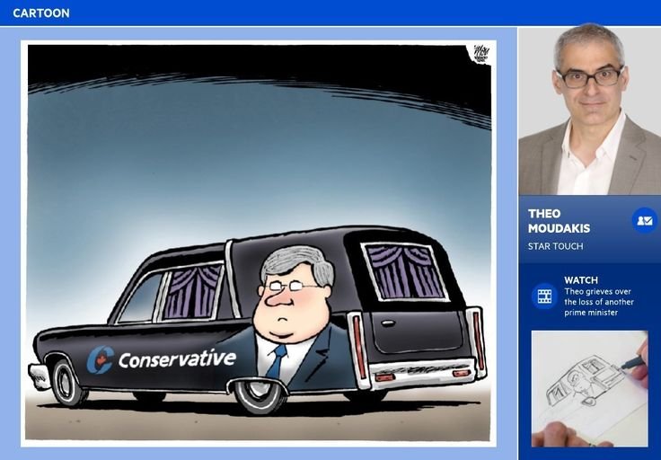 Harper campaign on the ropes - STAR TOUCH