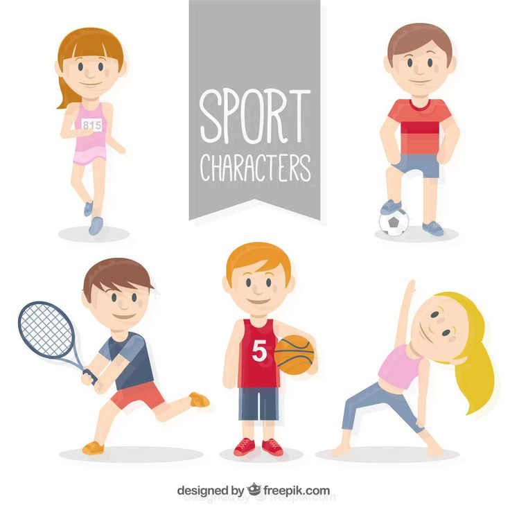 Sporty Character Collection - FREE