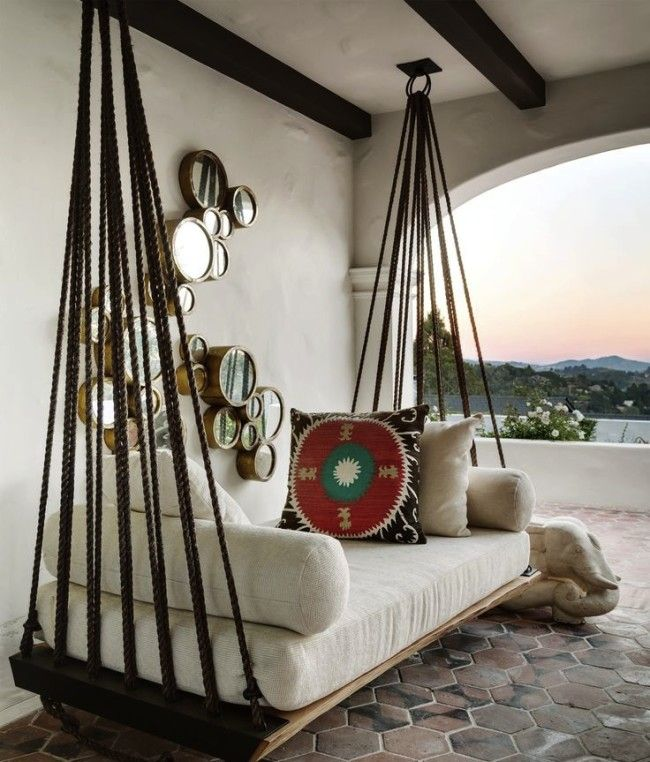 Swing bed // Cozy Ourdoot Living