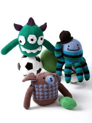 Funny Friends Yarn Free Knitting Patterns Crochet Patterns Yarnspirat...