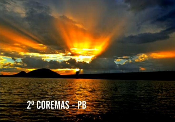 pôr do sol e estrelas | Pôr do Sol em Coremas - PB ficou em 2º lugar. Imagem: Fantástico ...