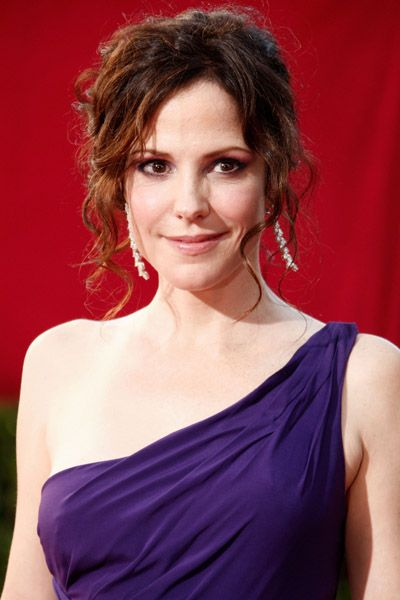 Mary-Louise Parker at the 61st Primetime Emmy Awards held at the Nokia Theatre on September 20, 2009 in Los Angeles, California.