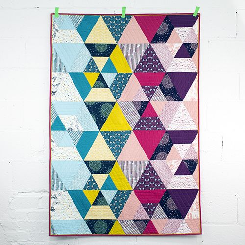 Prismatic Quilt by Michelle Engel Bencsko from Make It Sew Projects for Cloud9 Fabrics