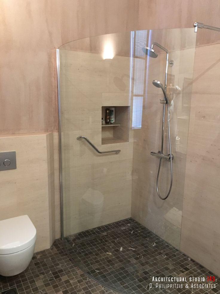 Details of a residential mansion _ bathroom | interior design | mansion | Pelion | lighting | Sporades | renovation | reuse _ visit us at: www.philippitzis.gr