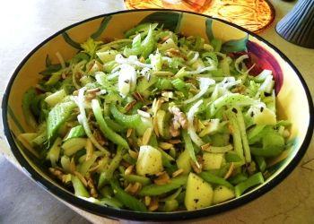 Рецепты салата из сельдерея для похудения