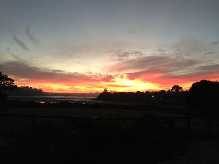 Sunset at Karaka