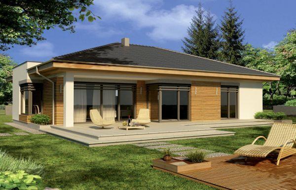 projekt domu ALABAMA B PALIWO STAŁE