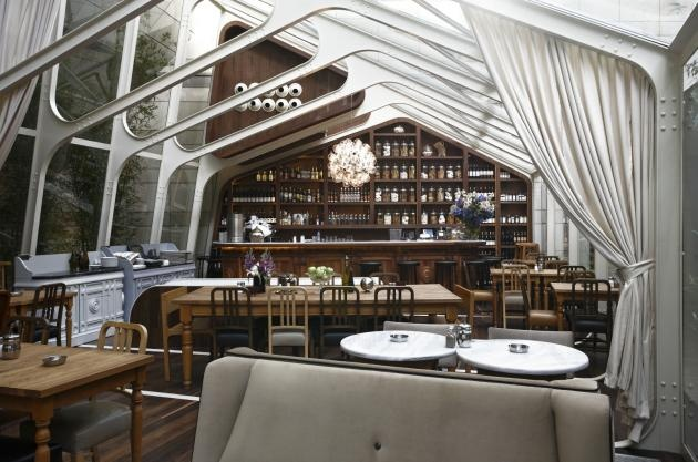 Greenhouse restaurant by Autoban from Istanbul