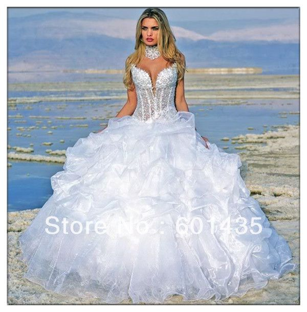 1000 images about see through corset wedding dress on for See through corset top wedding dress