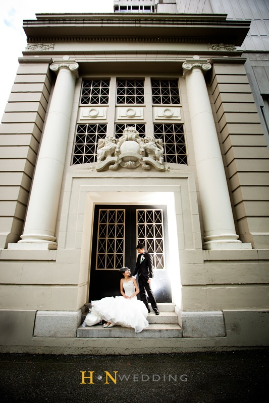#VancouverClub #HNWedding #Vancouver #downtown #outdoor #photography #weddingday #www.hnwedding.com