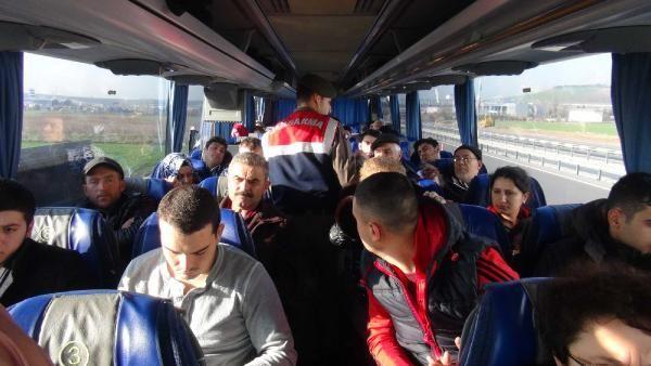 Jandarma, Bursa'nın 17 İlçesinde Araç ve Kimlik Kontrolü Yaptı
