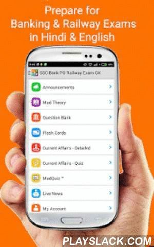 SSC, Bank PO & Railway Exam GK  Android App - playslack.com ,  Madguy Labs SSC, Bank PO & Railway Exam GK app helps you in preparing for SSC exam, SSC CHSL 10+2 exam IBPS PO exam, SBI Clerk exam, UPSC exam and other state level exams like MPSC, KPSC, UPPSC, RPSC. We provide daily current affairs for 2015 - 2016 along with question banks and mock test series which you can use in offline mode as well, we also provide daily Offline detailed current affairs to improve understanding.This…