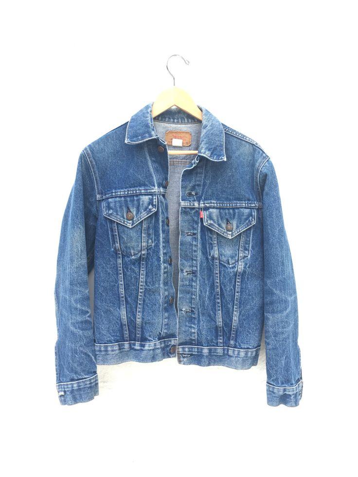 70's Levis Trucker Jacket Levi's Jean Jacket Levi Denim Jacket 38 by Chicaluna on Etsy