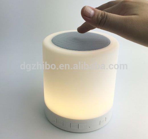 Touch Lamp Wireless Mini Bluetooth Speaker Bluetooth Portable Altavoces Movil Altavoz Portatil for Phone PC 3.5mm Jack Adapter #Altavoces, #Speakers