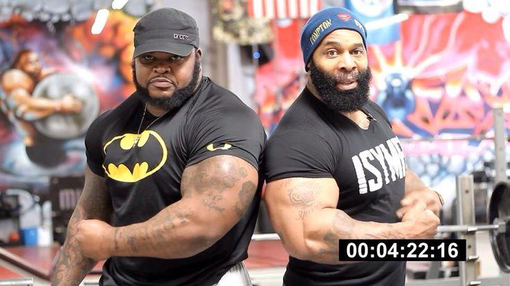 i watched this video n got damn... go youtube it...Da Hulk and CT Fletcher
