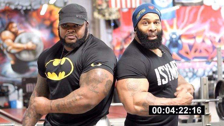 i watched this video n got damn... go youtube it...Da Hulk and CT Fletcher