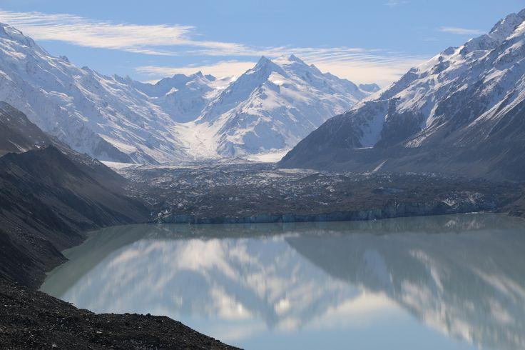 Tasman glacier, Mt Cook National Park New Zealand #nz #travelnz #purenz #silberhorn taken By www.silberhorn.co.nz