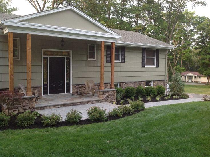stone facing for houses | Stone Veneer Siding on West Milford NJ Home - Stone Veneer Siding