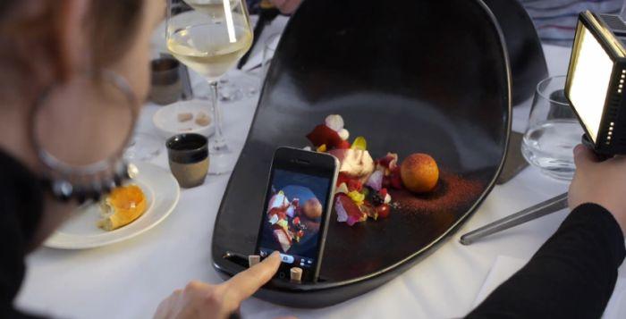 Deze borden zorgen voor perfecte Instagram-foto's van je eten