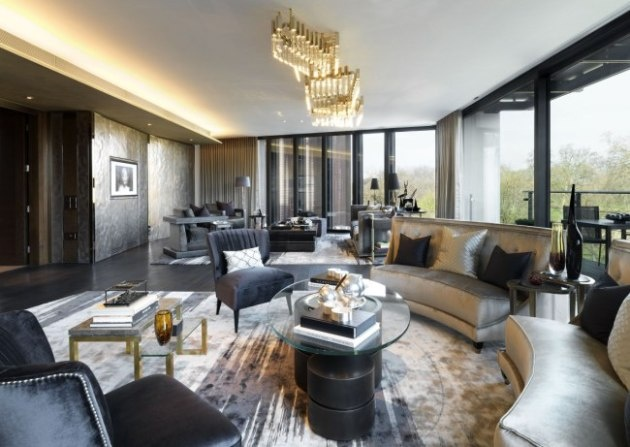 The Penthouse, London, One Hyde Park Interior