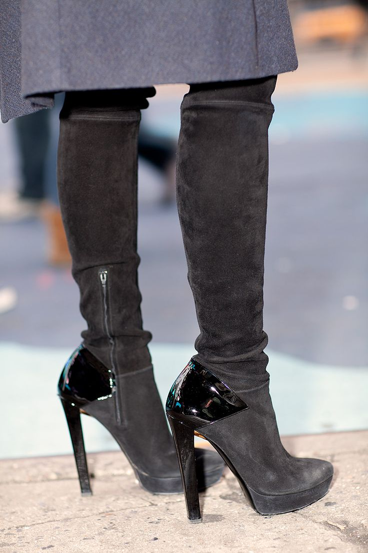 These Gucci boots never fail to attract a compliment.