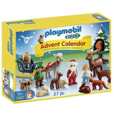 Playmobil 123 Advent Calendar - Christmas in the Forest