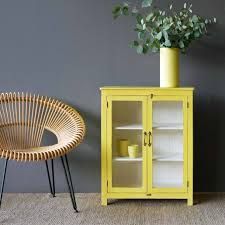 Image result for yellow two door small cupboard