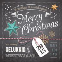 Kerstkaart 'Label & touwtje'  http://kerstkaarten.cardsandcards.nl/welkom/